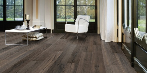 Dřevěné podlahy Solidfloor Earth and Fire Yampa - Oak extra rustic, Deep brushed, Coloured (reactive stain), Natural oiled