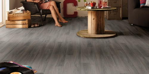 Tarkett Exclusive 240 Chateau - French Oak Dark Grey
