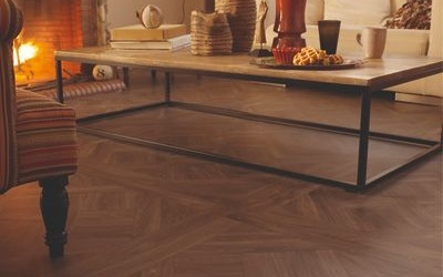 Tarkett Exclusive 240 Chateau - Parquet Versailles Dark Grey