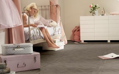 Tarkett Exclusive 240 Chateau - Parquet Versailles Light Grey