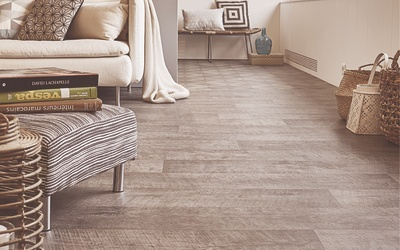 Tarkett Exclusive 300+ Concept Sawn Oak Dark Grey